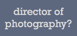 Need a director of photography based in Asia?