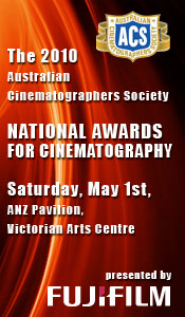 2010 Australian Cinematographers Society National Awards