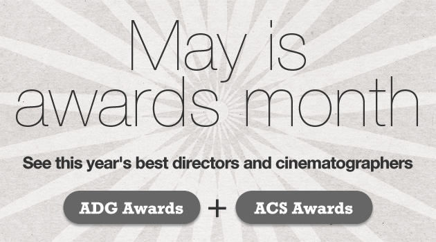 May is Awards Month on Showreelfinder!
